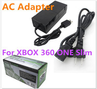 For Xbox   Factory Price AC Power Adaptor for XBOX 360 ONE Slim game adapter charging accessory 220V AC Adapter power charger