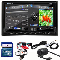 Wholesale 2 Din Universal Inch Car DVD Player GPS Navigation Digital TV ISDB T DVB T Radio Head Unit Car Stereo iPod Bluetooth Map SD USB D G