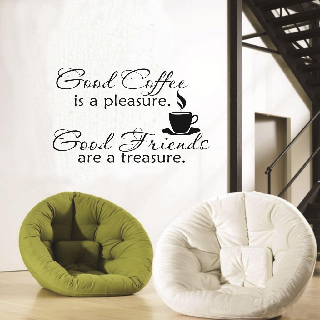 Home wall stickers children room decoration fashions english home wall stickers children room decoration fashions english proverbs good coffee word design home decoration pvc vinyl wall sticker removed wall stickers amipublicfo Images