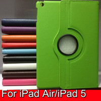 30pcs 360' Rotation Protective Lichi Pu Leather Case cover +...