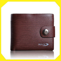 Wholesale Men s Short Wallet Buckle Purse Brand Wallet Cheap Name Brand CM KL100