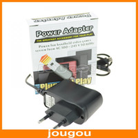 Wholesale AC V Hz W Wall Charger Home AC Power Adapter Travel Charger For DSi NDSi LL XL DS N3DS XL EU Plug