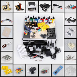 Wholesale 2014 High Quliaty Complete Tattoo Kits Tattoo Kits Case TK