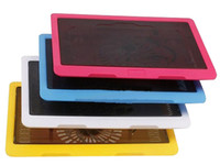 Wholesale Underselling High Quality Laptop Cooler Pad Double USB Adjustable Angle Stand multi function mixed color via DHL