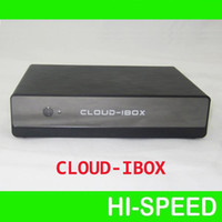 Wholesale 5pcs Cloud ibox Full HD DVB S2 Satellite Receiver Enigma Mini VU Solo cloud i box support IPTV streaming channels FEDEX