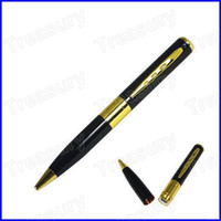 Wholesale 2013 New FPS Spy Video Recorder Camera Pen Hidden Camera In Silver With Retail Packing