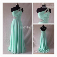 Actual Images Floor-Length A-Line 2014 Top Glamorous One-Shoulder Pageant Dresses Beaded Floor-Length A-Line Evening Gown Formal Dresses Real Pictures