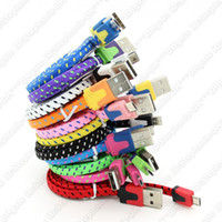 1 m Fabric Braid Cable  1m 3FT 8Pin 30Pin Noodle Fabric Braided Data Cable Sync Charger Fabric Woven Cord Lead For iPhone 5 5S 5C 4 4S iOS7 Samsung HTC Blackberry