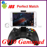 Wholesale G910 Wireless Bluetooth Gamepad Game Controllers amp Joysticks for Android iOS Cell Phone Tablet PC Mini PC TV BOX xmas gift for kids