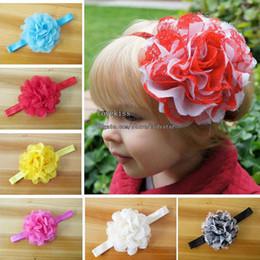 Wholesale Fashion Princess Headbands Hair Things Childrens Accessories Kids Girls Cute Multicolour Flower Headbands Baby Hair Accessories Hair Flowers