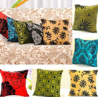 Wholesale Home Decor Square Pillowcases Bed Sofa Throw Pillow Cases Car Back Cushion Cover HDA0009