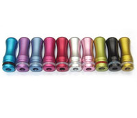 Wholesale Newest glorious Colorful Driptip multi color Aluminum drip tips