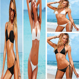 Wholesale High Fashion Strapy Swimwear Women Padded Bikini Set Sexy Lady Swimsuit Hot Sale Bathing Suit