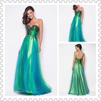 2014 Top Glamorous Sweetheart Prom Dresses Sequins Ball Gown...