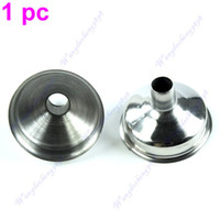 Wholesale 120pcs free e ulink pc New Stainless Steel Funnel For All kinds Of Hip Flasks Wine Pot Filler