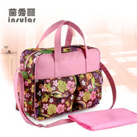 Wholesale New Arrival Stylish Baby Diaper Bag Fashion Waterproof Nappy Bags Mommy Bags
