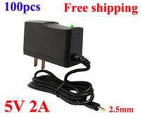 Wholesale AC V V to DC V A mm Power Adapter Supply Charger mm x mm US Plug for Android Tablet PC High Quality