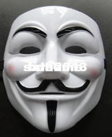 Wholesale v mask vendetta mask Halloween carnival Mask guy fawkes mask masquerade