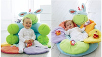 Wholesale Hotsale ELC Blossom Farm Sit Me Up Cosy Baby Seat Baby Play Mat Baby Sofa Inflatable Seat Gift Set Packing for New Born Babies