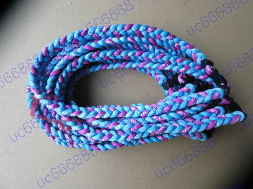 Whole ale dhl 3 rope tornado braided necklace 3 rope titanium necklace 3 braided necklace germanium amp titanium18 quot 22 quot