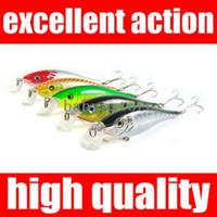 Wholesale 5pcs mm g Fishing Lures Minnow Crankbaits Jerk Pike Trout Fly soft lures for fishing