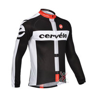 Wholesale team CASTELLI CERVELO Long Sleeve cycling jersey cycling shirt Long sleeves Bike Tops