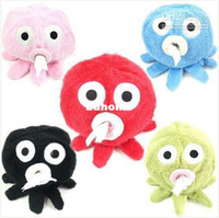 Cheap Wholesale - New Cute Octopus Paul Tissue Box Cover Holder Paper Roll