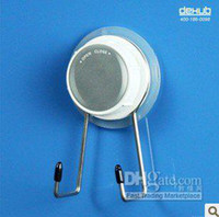 Wholesale hot sale mini double hooks with suction cup bathroom accessories kitchen Dehub Korea