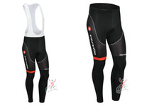 Wholesale Castelli Compression BiB Cycling Pants Castelli Mountain Bike Bottoms Padded Castelli Bike Long Pants Black