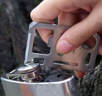 Multi Tools   Multi Pocket Survival Tool 11 Function Saber Card Knife Outdoor Survival Multifunction knife