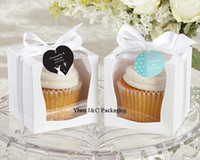Wholesale NEW DESIGN Single Wedding x9 Cupcake Boxes Wedding Gift Box Favor Box JCO C