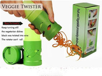 Wholesale price set New Vegetable Fruit Twister Cutter Slicer Processing Kitchen Utensil Tool