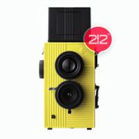 Wholesale Blackbird black bird fly bbf vintage duaflex camera lomo camera yellow