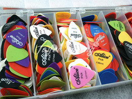 Wholesale of Alice Sandblast Matte Nylon Acoustic Electric Guitar Picks Wholesales