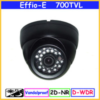 Wholesale Effio E TVL Exview CCTV H IR Day amp night dome Video CCD Camera With OSD D WDR CF From COSMOCCTV