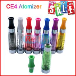 Atomizadores CE4 cigarrillo electrónico CE4 Clearomizer 1.6 ml Cartomizer Traje Para 510 eGo de la Batería del Ego t del Ego w EVOD el Ningún escaparse 8 Colores refly