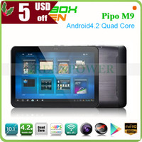 Wholesale Pipo M9 inch Tablet PC IPS Screen GB GB Android tablet Dual Camera Bluetooth option G RK3188 Quad Core mid