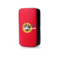 Wholesale High Quality Kick Boxing Pad Martial Arts Muay Thai Focus Target MMA Training Red and Black
