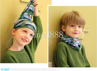 Wholesale Radomly Mix order Multi function Cotton Scarves for kids Hot Fashion Scarf for boys and girls