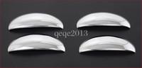 Wholesale 4pcs New Chrome Door Handle Cover fit For Peugeot car trim
