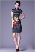 Hot Sale! Sexy and Elegant Women Slim Chinese Cheongsam Vint...