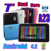 7 inch android tablet jelly bean - A70X Pro Inch A23 Dual Core Tablet PC Android Jelly Bean Ghz Dual Camera With Flashlight MB GB A70H DHL