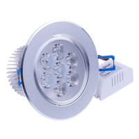 Wholesale 7W High Quality High Power Ceiling Recessed Lights Led Downlight Dimmable Indoor Home Downlight Freeshipping