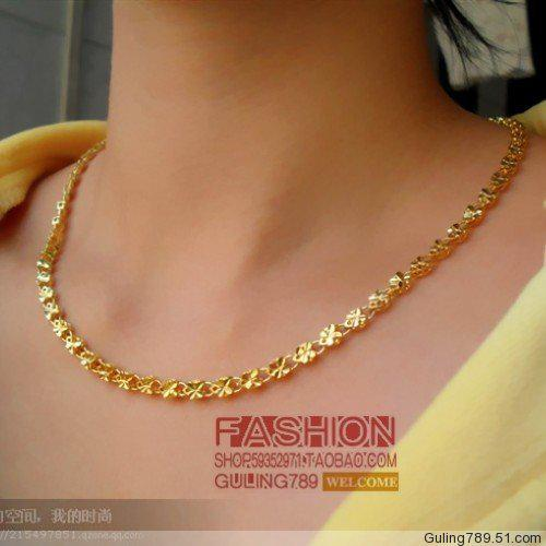 Wholesale Men And Women Can Wear Happiness Clover Necklace
