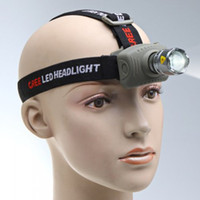 Wholesale CREE Q5 LED Headlamp Zoomable Lumen Headlight Flashlight for Camping Cycling Climbing
