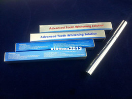 Wholesale non peroxide teeth whitening pen with box