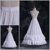 Wholesale DL09760 Fashion Hot Sales Cheap A Line Bridal Petticoats Wedding Underskirt Crinolines Bridal Accessory with lining