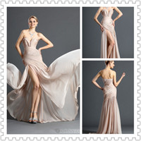 2014 Top Glamorous Sweetheart Prom Dresses Mermaid Style Flo...