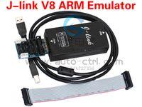 arm jlink - amp Retail J link Jlink V8 ARM Emulator supports ARM7 ARM9 ARM11 Cortex M3 core IAR STM32 Emulator wi