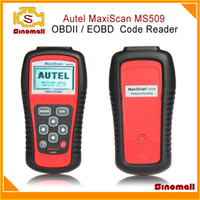 Code Reader For BMW memoscan Autel MaxiScan MS509 OBDII EOBD Auto Code Reader work for US Asian & European cars MaxiScan MS 509